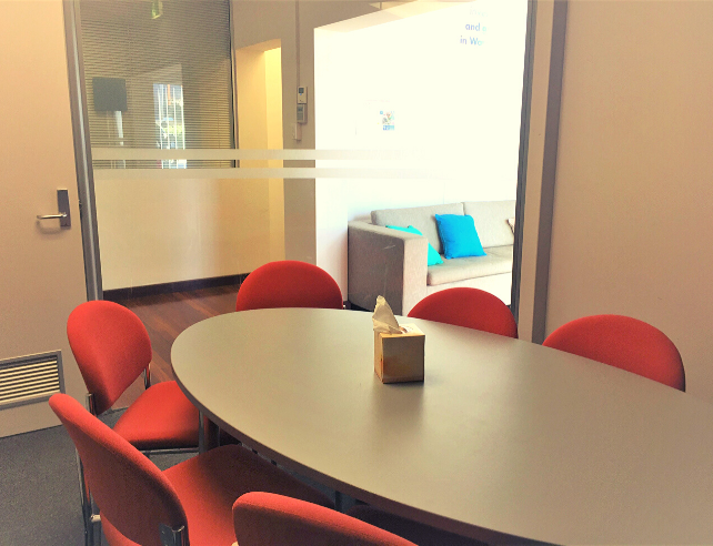FISH BOWL MEETING ROOM
